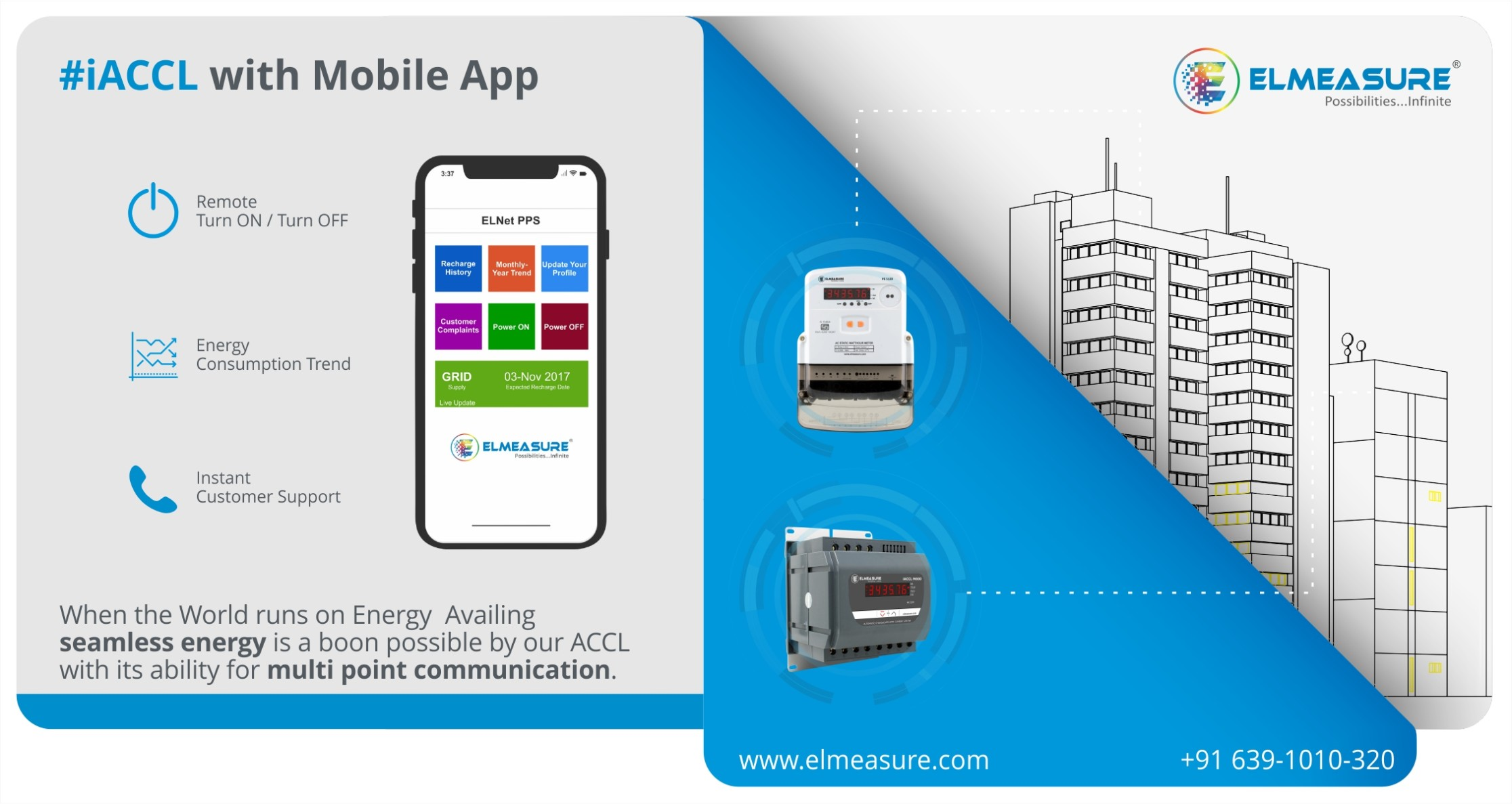ACCL remotely using Mobile APP